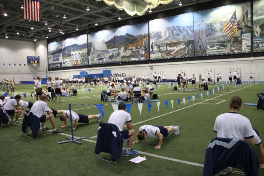 Physical Fitness Test   USAFA Webguy