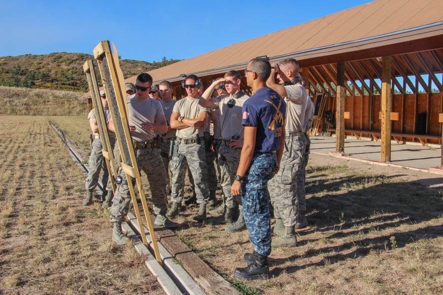 Combat Shooting Team Competition