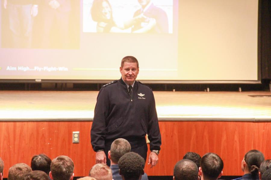 4 Star General Rand Visits The Prep School