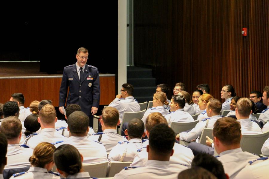 Gen Armacost Visits The Prep School