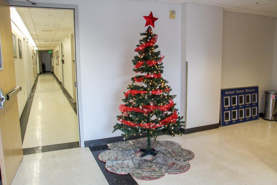 Prep Squadron Christmas Trees