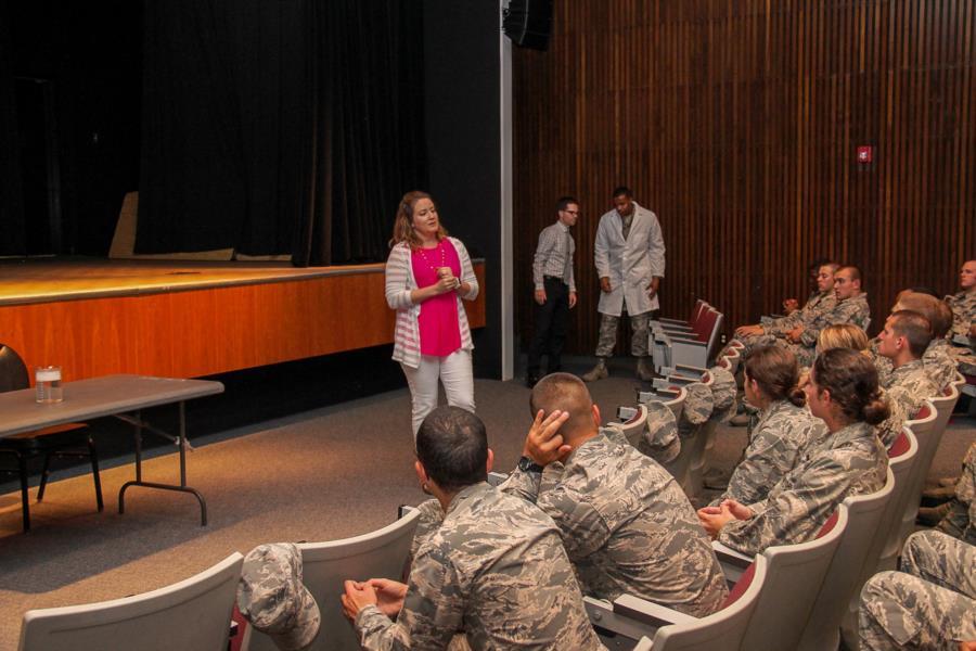 Prep School Honor Lesson & Science Demo | USAFA Webguy