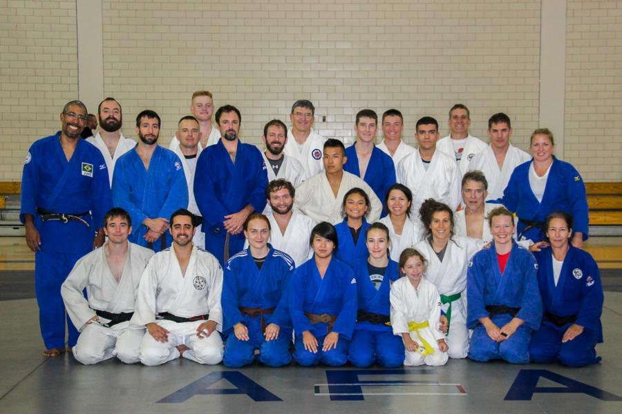 USAFA Judo Clinic With Olympian Marti Malloy