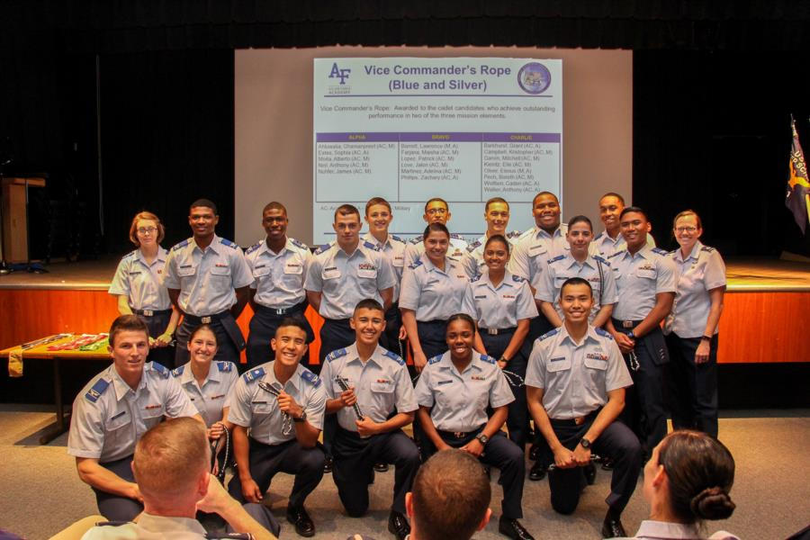 1st Quarter Rope Ceremony | USAFA Webguy