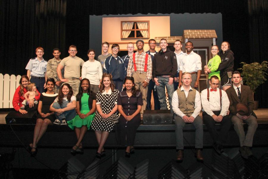 Blue Bards Club - All my Sons Production