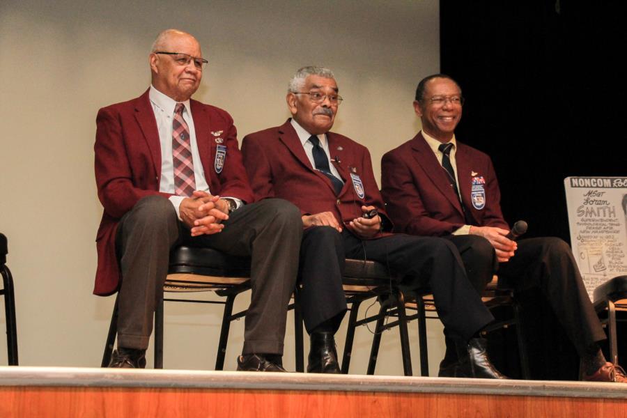 Tuskegee Airmen Visit The Prep School