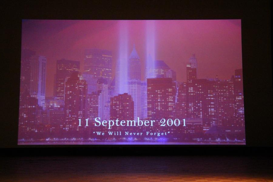 Prep School 9/11 Ceremony