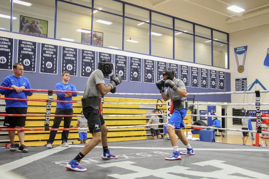 Men's IC Boxing Practice