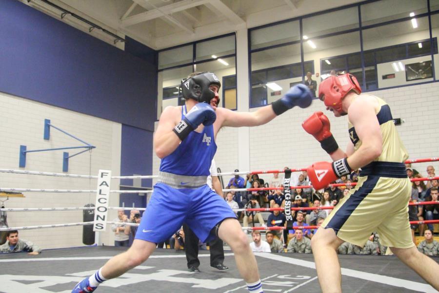 AFA Boxing vs Navy