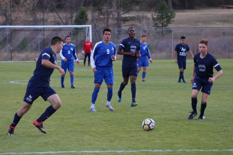 Soccer- USAFA JV vs USAFA Prep School