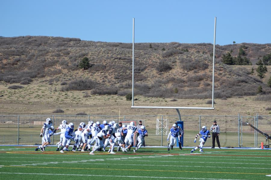 USAFA Prep vs USAFA JV Football Game