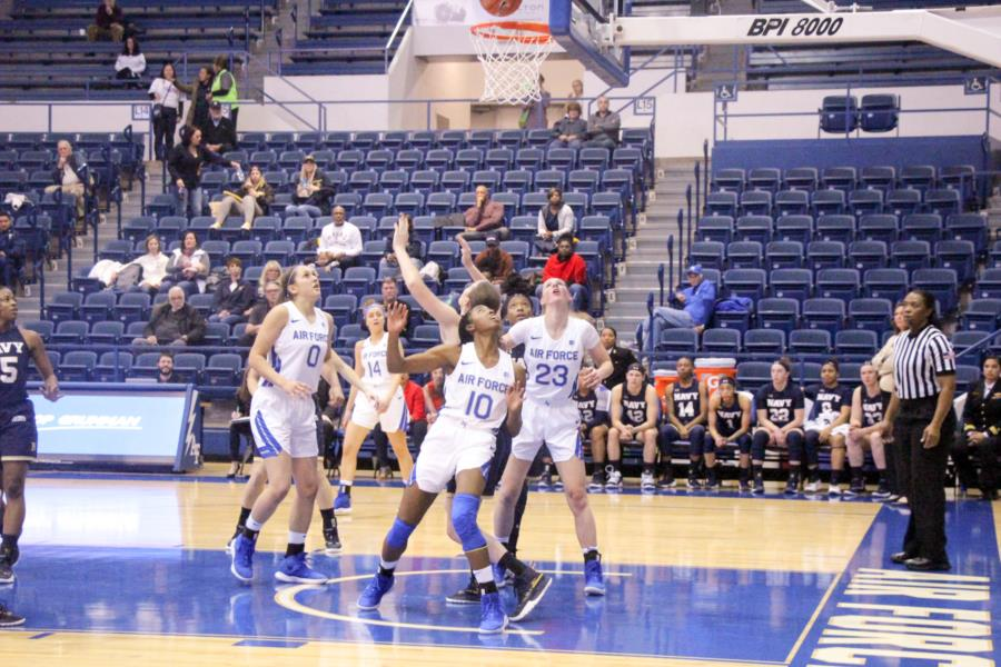 Air Force vs Navy Women's Basketball