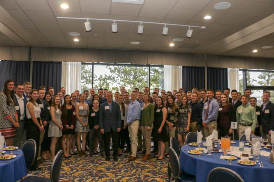 Dean's Aces and A-Team Dinner Reception