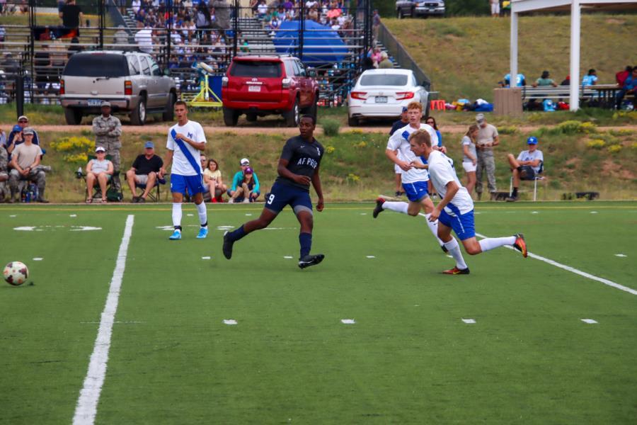 USAFA Prep vs USAFA Reserves Soccer Game