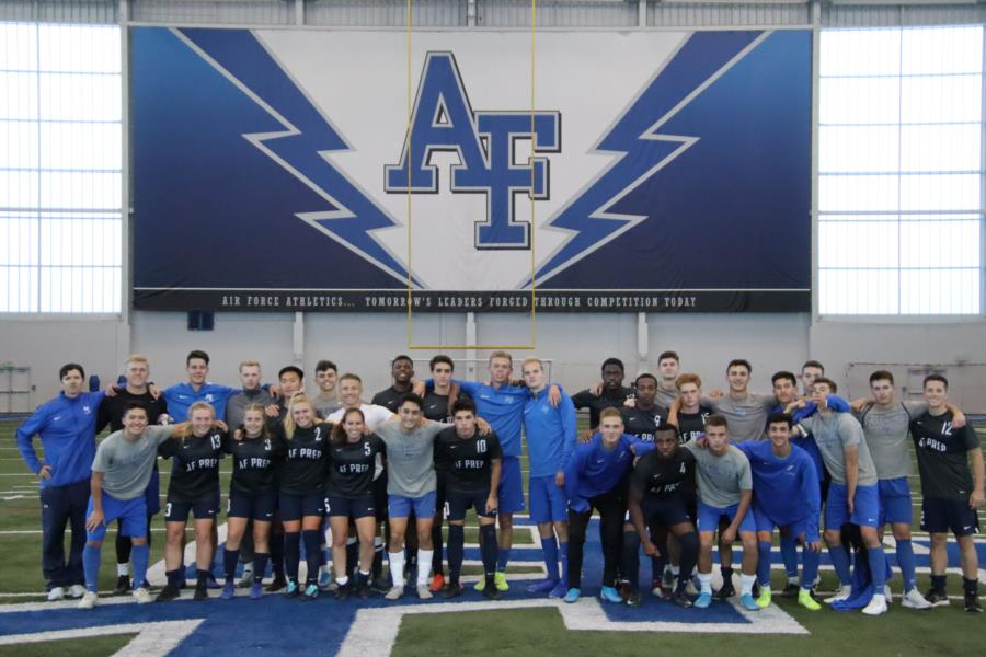 USAFA JV Soccer Vs. USAFA Prep School
