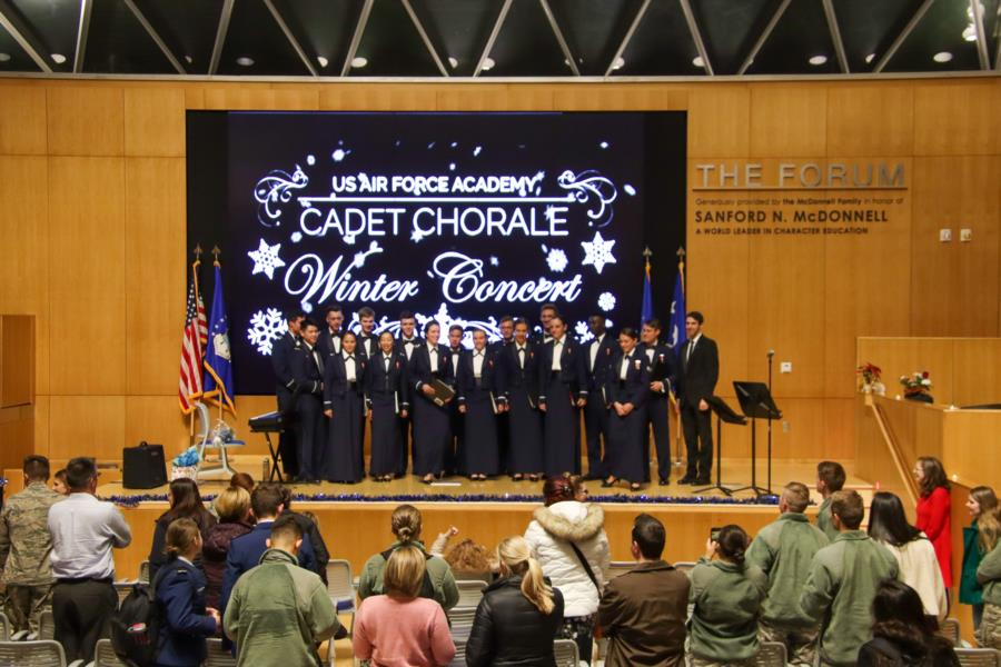 Cadet Chorale Winter Concert