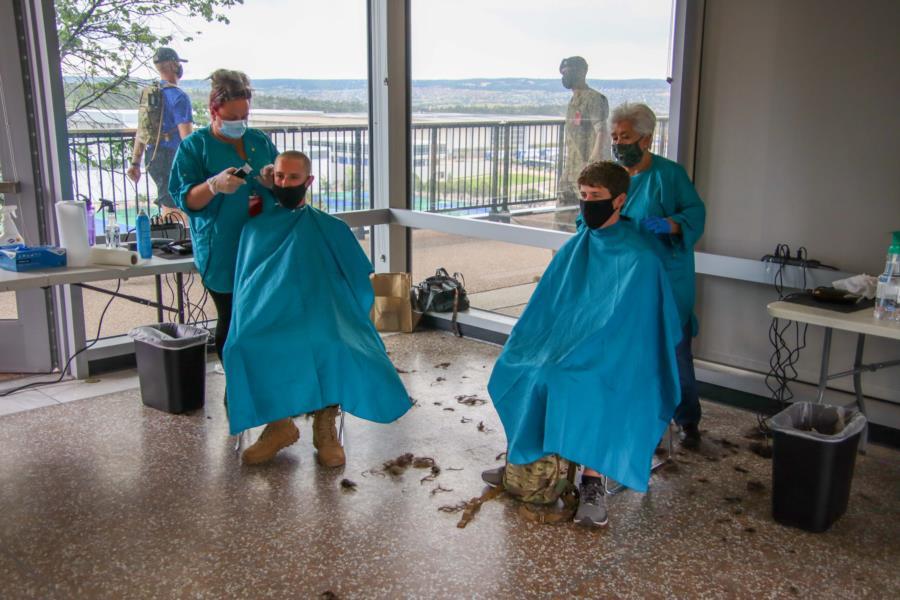 I-Day Men's Haircuts