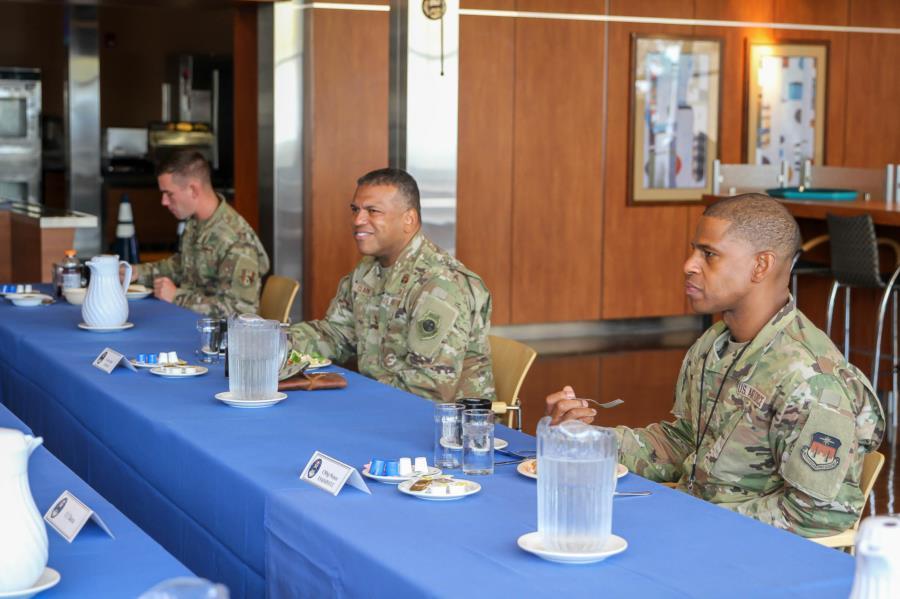Lt. Gen Clark visits Prep School