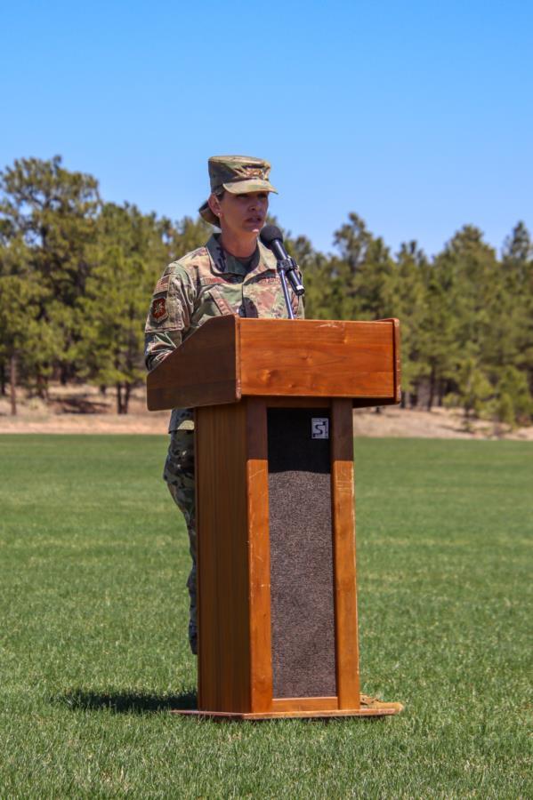 USAFA Commandant visit to the Prep School