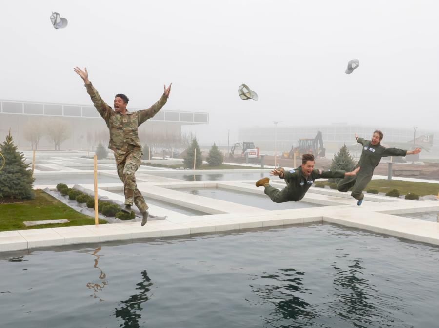 Fountain Jumps continued on Monday!