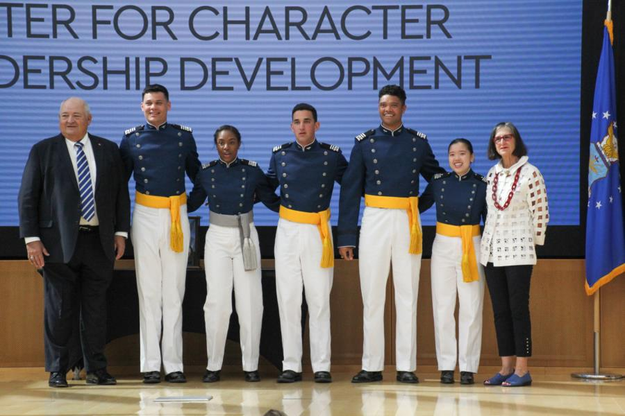 1st Lt Roslyn L. Schulte Cadet Award and Recognition Ceremony