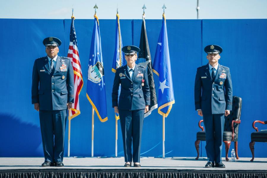 USAFA Commandant Change of Command