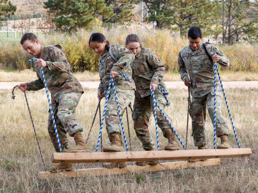 Prep School Ropes Course/USAFA Tour