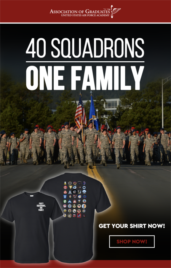 40 Squadrons. One Family.