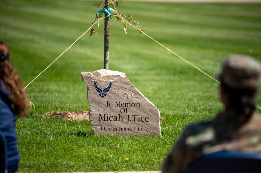 Micah J. Tice's Memorial Ceremony