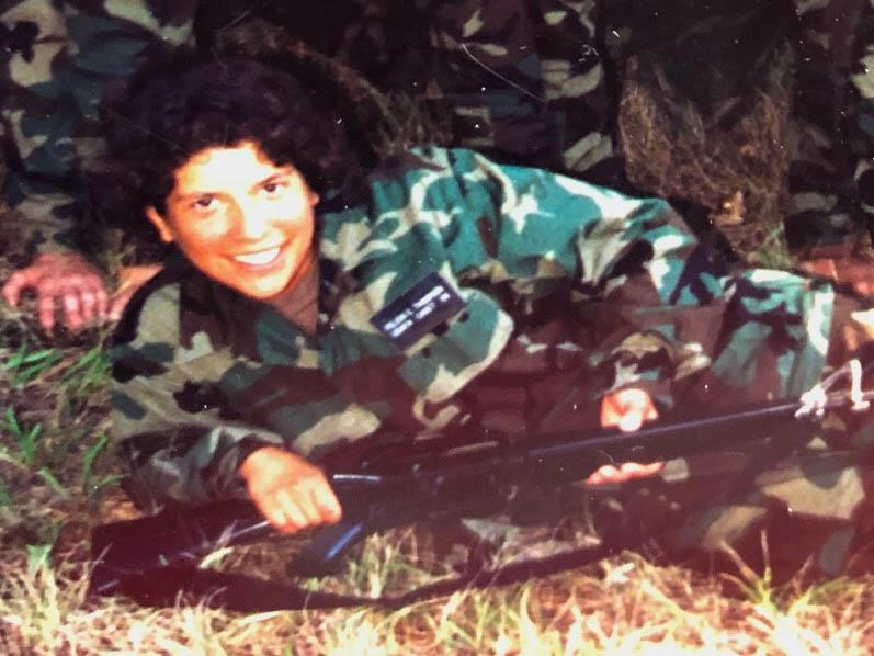 Basic Cadet Training Experience:  Felicia Recker '98