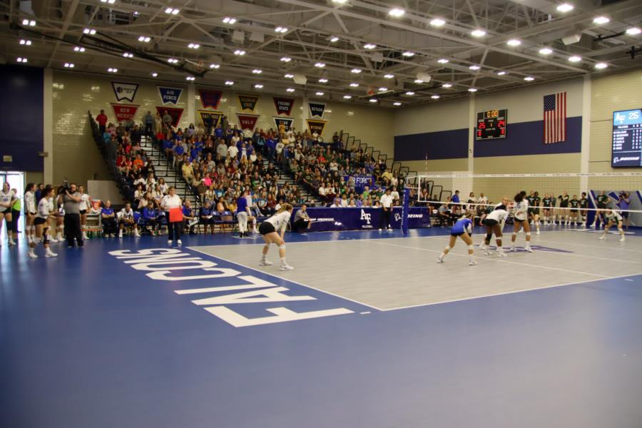 USAFA Women's Volleyball vs Colorado State University
