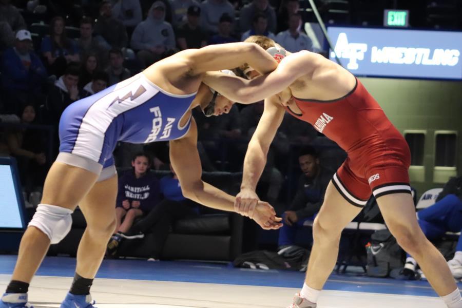 USAFA Wresting vs Oklahoma