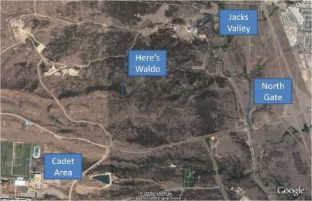Basic Jacks Valley Info USAFA Webguy - Air force academy map