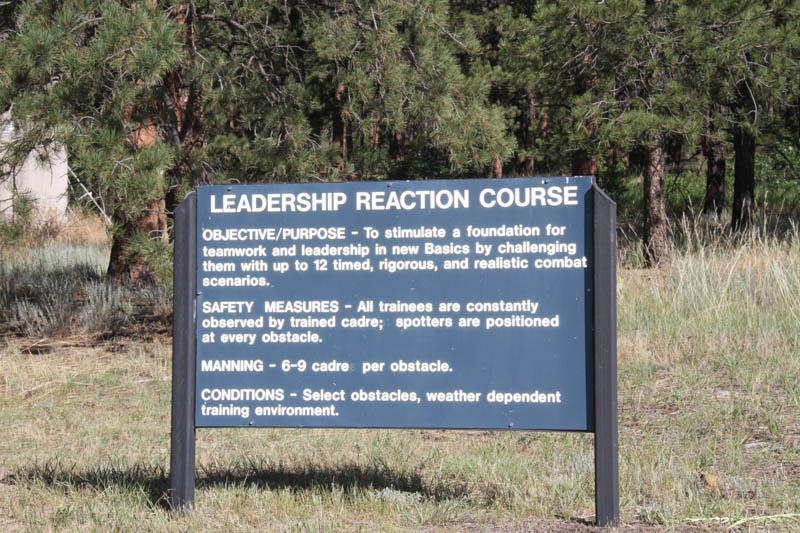 Leadership Reaction Course Explanation