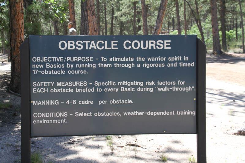 Obstacle Course Explanation